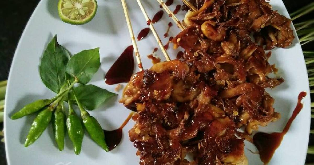 Resep Sate Jamur Tiram Oleh Dapurvy Cookpad