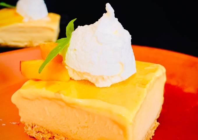 Recipe of Award-winning Peach Ice Cream Bar