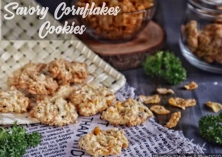 Savoury Cornflake Cookies