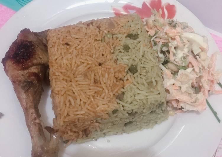 Fried / jollof Basmati rice