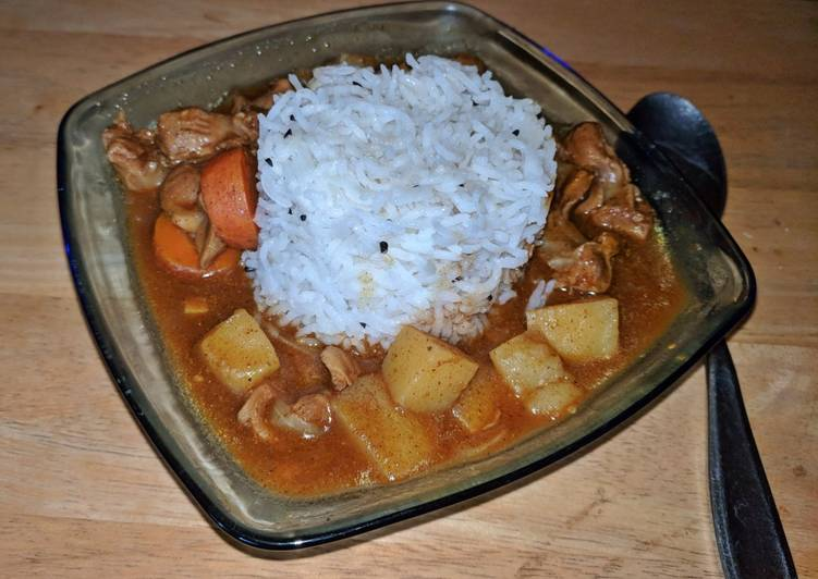 My Grandma Chicken Curry Stew Instant Pot IP
