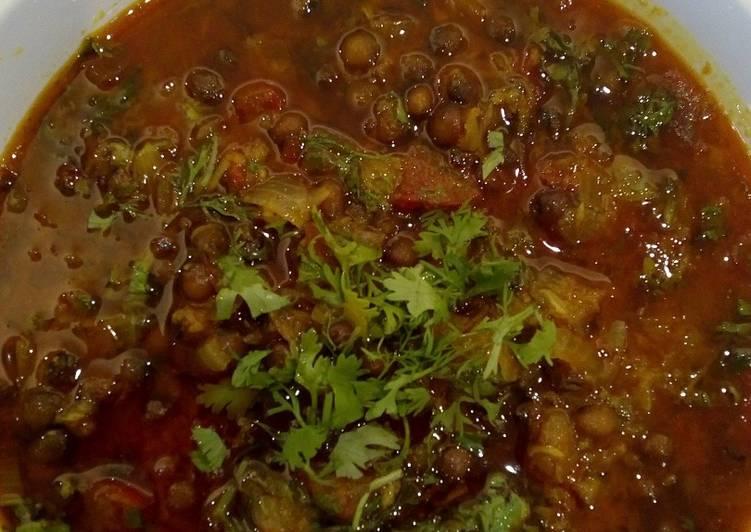 Dry pigeon pea curry / Rajasthani style Suki Tuver sabji / Tuver Totha sabji