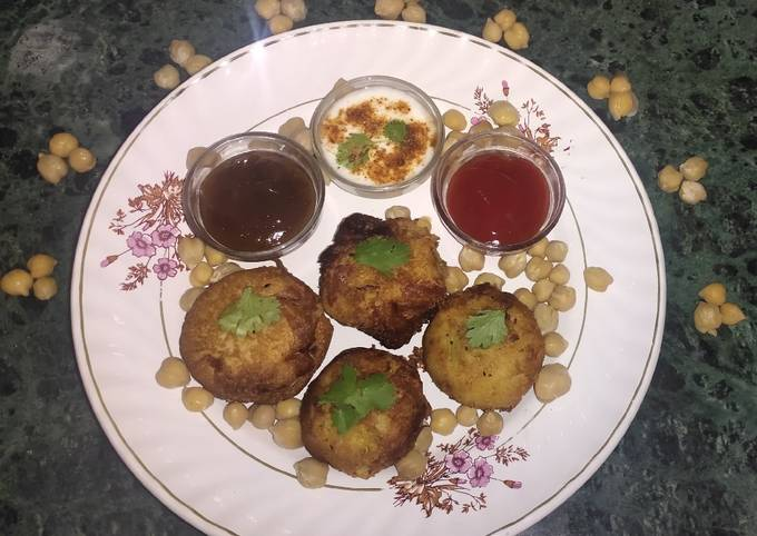 Chickpea Balls. (Waste mein Taste) (Without Onion and Garlic)