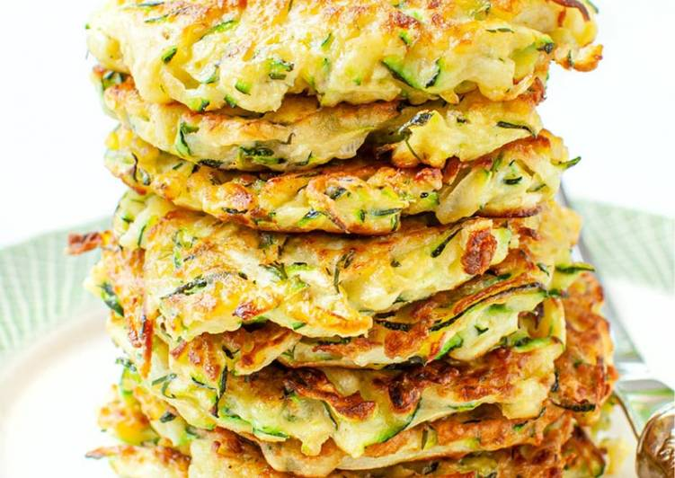 Recipe of Ultimate Zucchini fritters