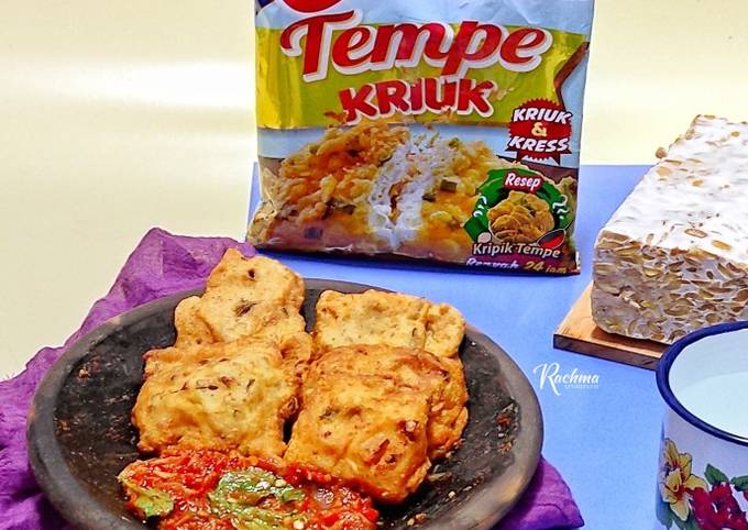 tempe tepung sambal kemangi - resepenakbgt.com