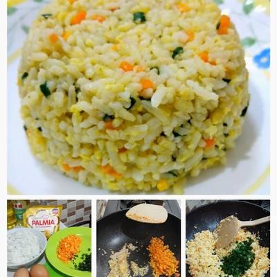 Resep Nasi Goreng Telur Ala Korea Oleh Shandjieta Kitchen Cookpad