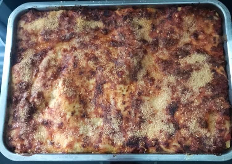 Lasagne chair à saucisse + veau