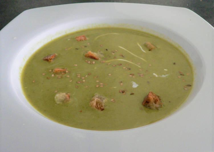 Recette Parfait Soupe de verdures