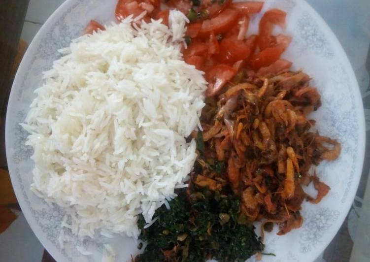 Coconut Shrimp with rice #localfoodcontest_Mombasa