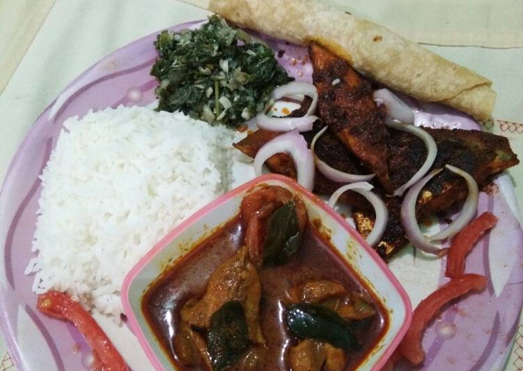 Recipe of Any-night-of-the-week Fried fish with fish curry