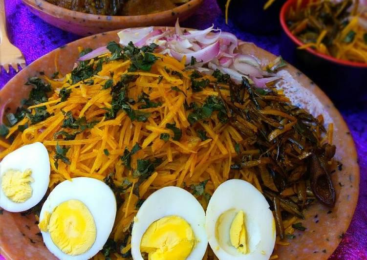 African Cuisine Abacha(african salad)