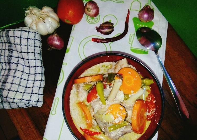 #garang asam ayam wortel berkuah