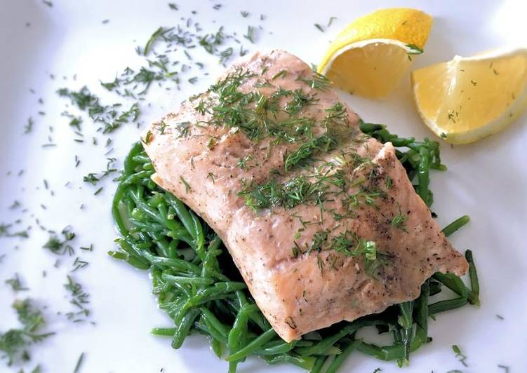 Simple Way to Prepare Homemade Oven steamed sea trout