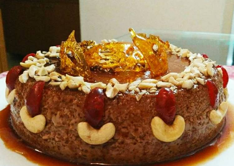 Chocolate and Nuts pudding