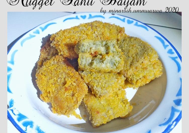 Nugget Tahu Bayam #118⁴