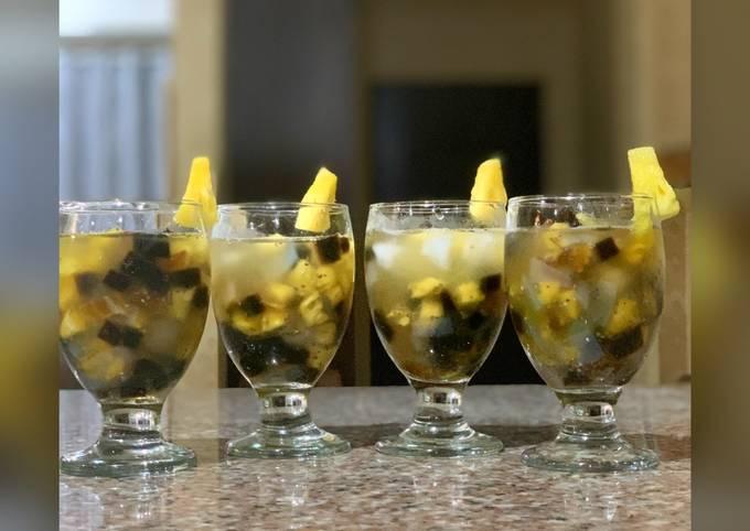 Minuman berbuka puasa sederhana (segar tanpa santan)