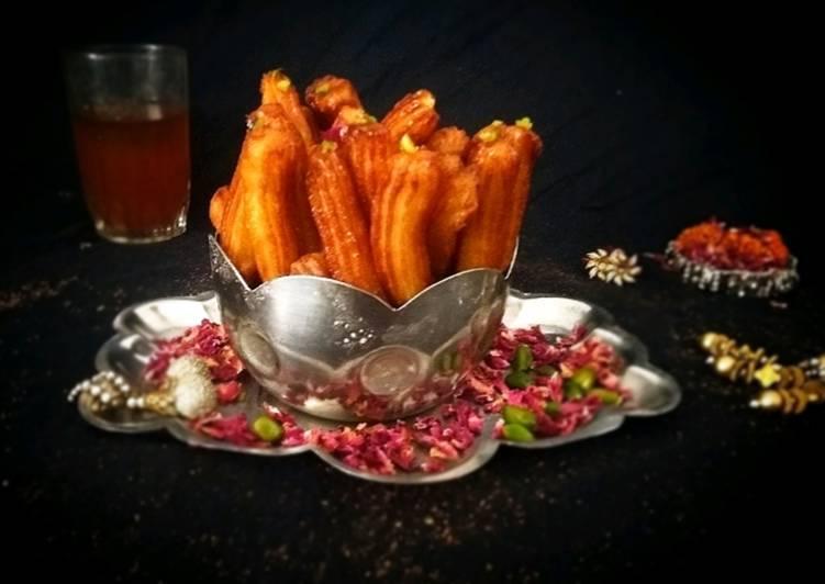 5 Minute Recipe of Love Tulumba - Turkish Delight