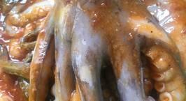 Hình ảnh món Sốt ướp sate Với sốt ướp này bạn có thể ướp mực, bạch tuộc, sườn bò, cá
