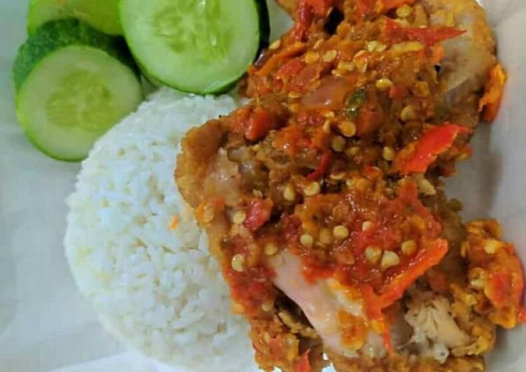 2. Ayam Geprek NDOWER