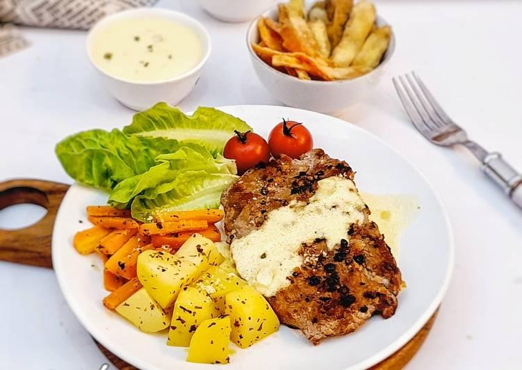 Steak Lada Hitam