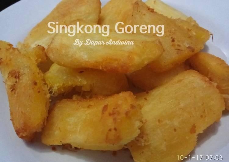 Singkong Goreng Crispy