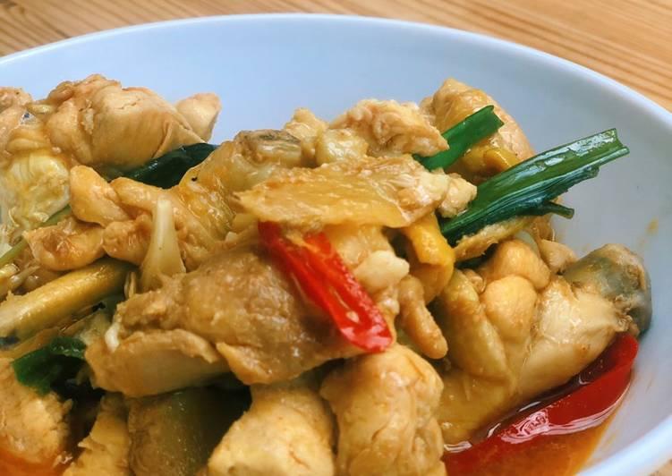 Easiest Way to Make Homemade 3 cups Chicken (三杯鸡)