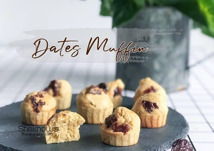 Mini Muffin Kurma #kurma - resepipouler.com
