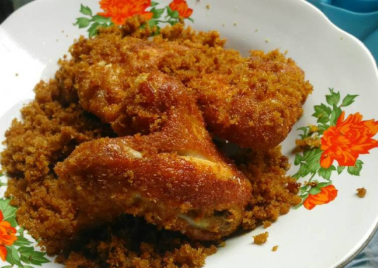 Resep Ayam Goreng Serundeng Halus Oleh Neni Bundanyanizar Cookpad