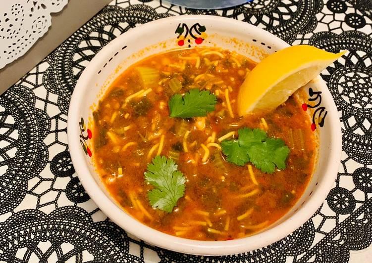 La Délicieuse Recette du Harira ou soupe marocaine