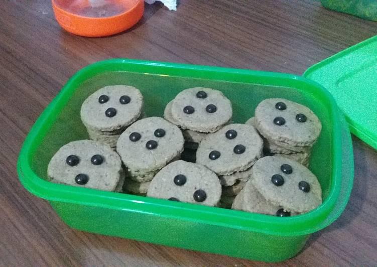 Oat Cookies Chococip (takaran sendok)