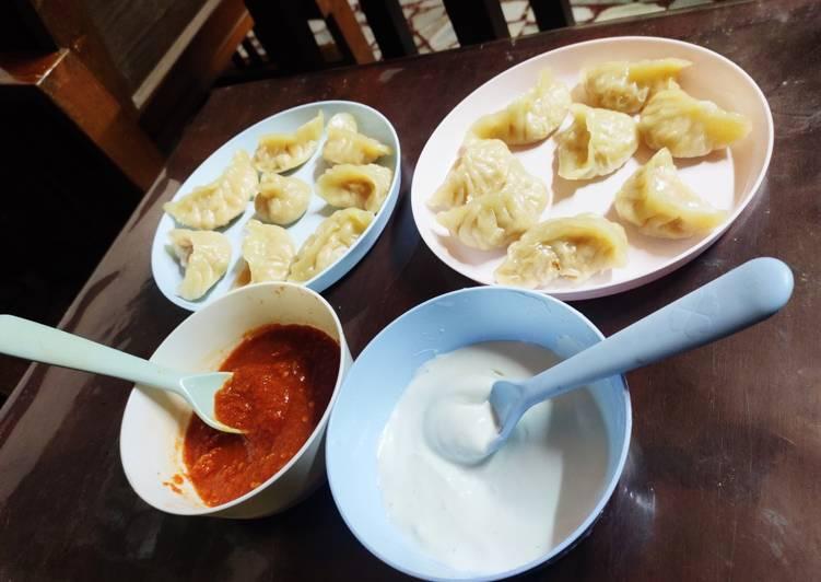 Chicken Momos or dumplings