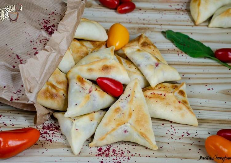 25 Minute How to Make Special Swiss_chard_pastry_triangles