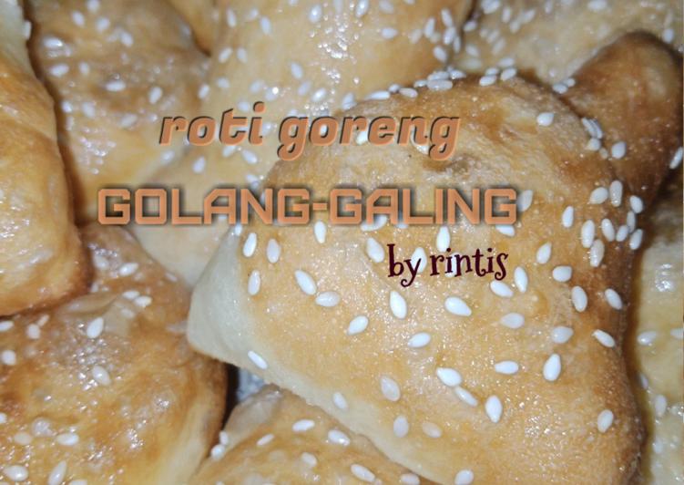Roti Goreng Bolang-baling #Golang Galing #Roti Bantal Mudah ya.