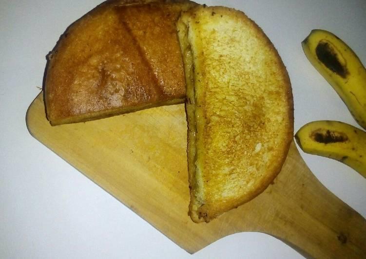Resep Roti Bakar Pisang ala Anak Kos Terbaik