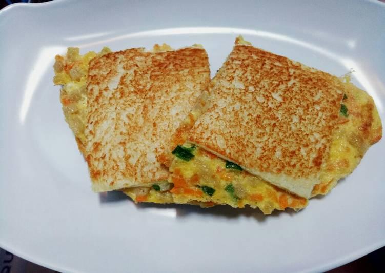 Roti Telur Panggang