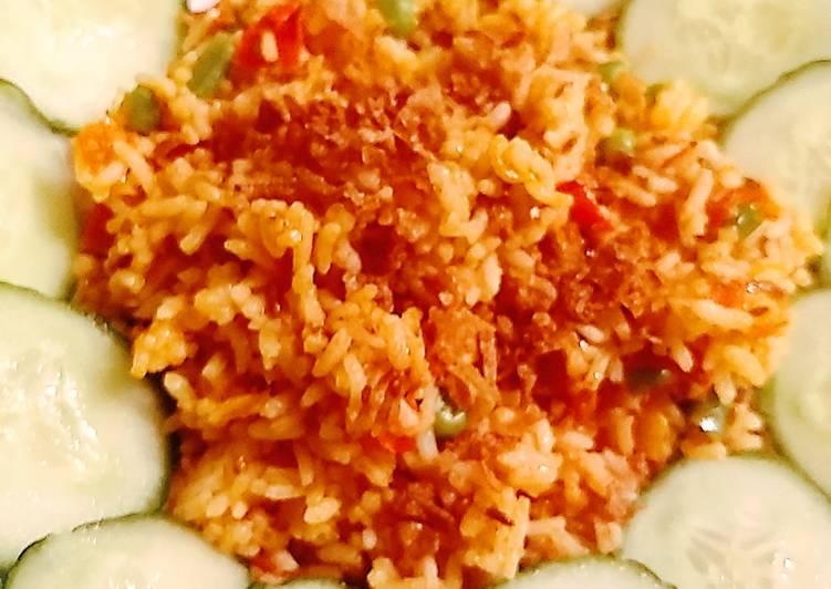 Quick rice dish
