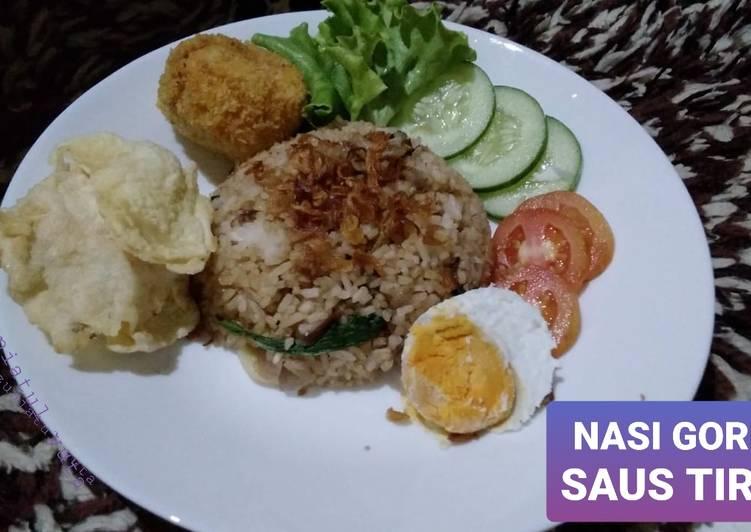 Nasi Goreng Daging Saus Tiram