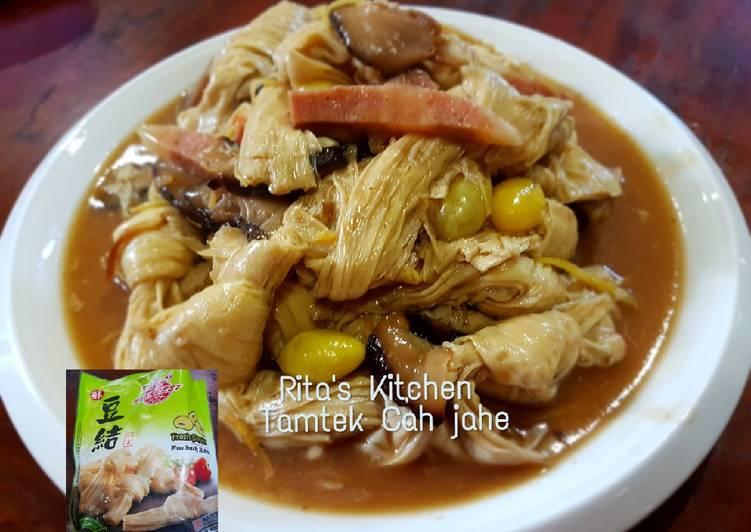 Resep 8 Kembang Tahu Cah Jahe Oleh Rita Kitchen Cookpad