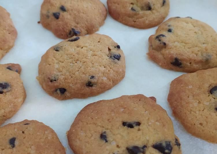 Choco Chips Cookies Renyah