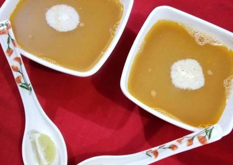 Recipe of Most Popular Red Lentil Veggie Soup