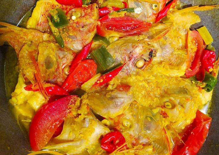 Nila Bumbu Kuning (ungkep) Tanpa Minyak