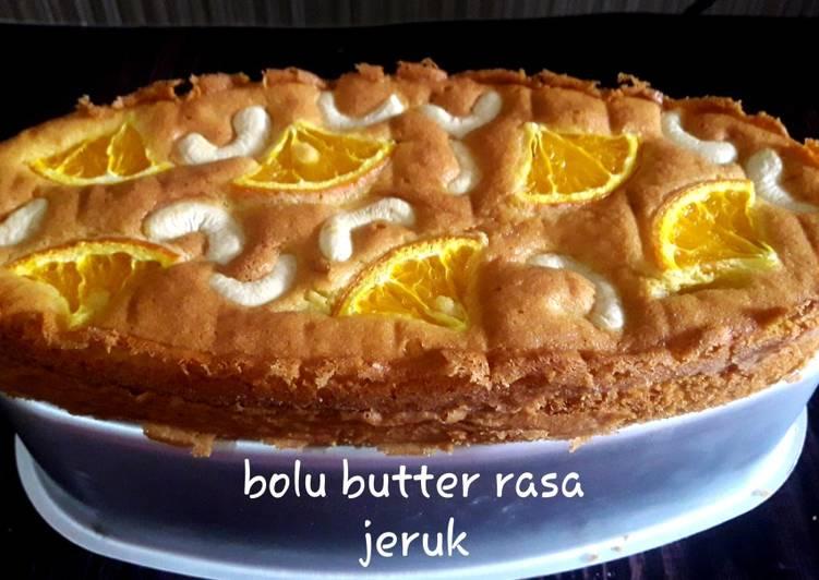 Bolu butter jeruk