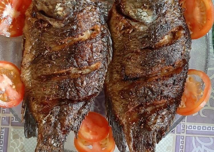 Ikan Nila Goreng Bumbu AL EL