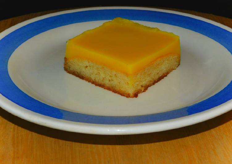 Dessert au flan arome vanille