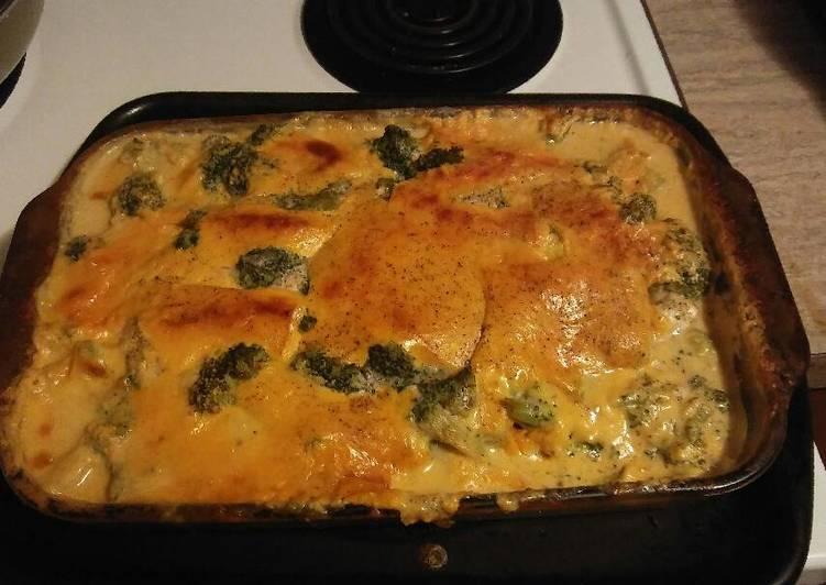 Chessy chicken & broccoli