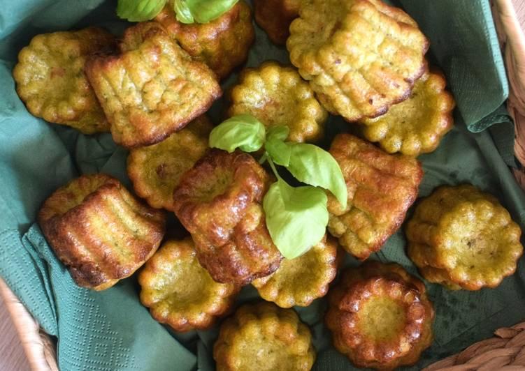 Cannelés au Pesto