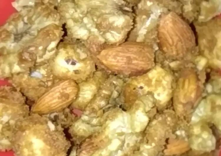 Simple Way to Make Perfect Caramalised nuts