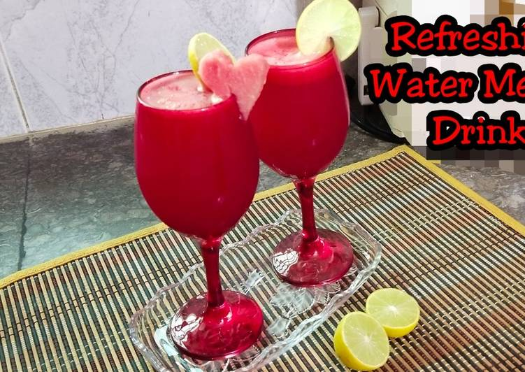 Easiest Way to Prepare Perfect Refreshing Water Melon Drink