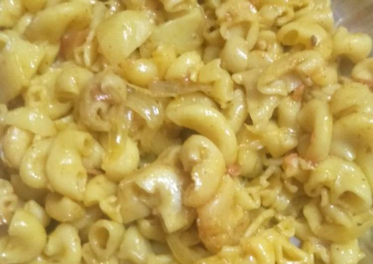 Steps to Prepare Homemade Macaroni