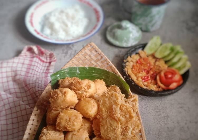 Tahu Tempe Crispy - cookandrecipe.com